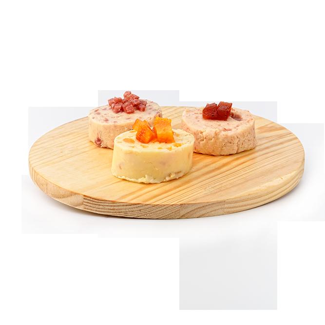 Tabla de quesos de untar